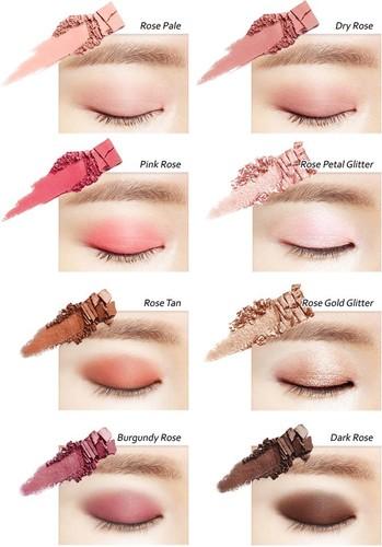 Палетка теней - Heimish Dailism Eye Palette Rose Memory